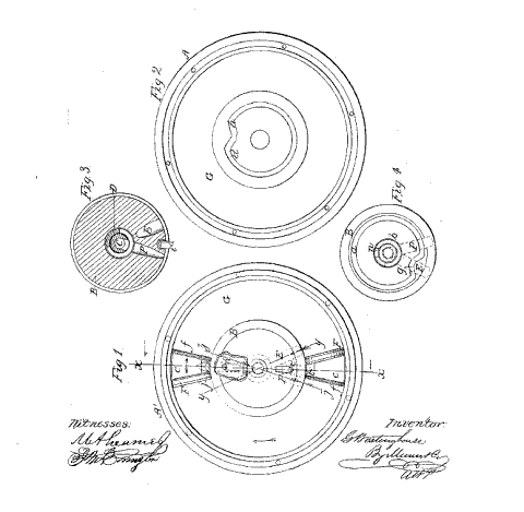 1865 Patent Drawing