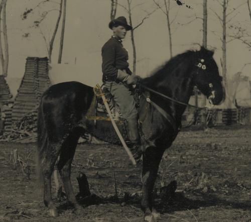 Cavalryman Archibald Van Orden