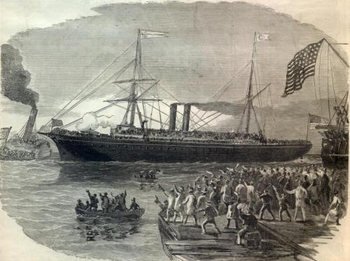 Steamship for NY Infantry