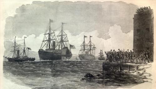 Steamship Fleet of Union Soliders